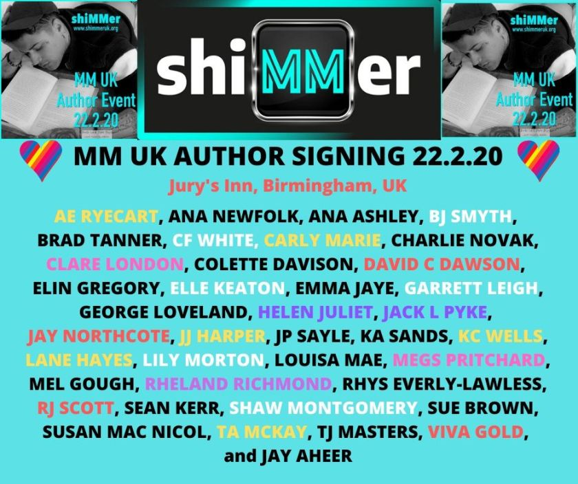 MM AUTHOR SIGNING 22.2.20 Jury's Inn, Birmingham, UK-2